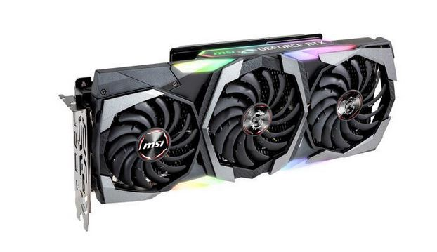 MSI GeForce RTX 2080 GAMING X TRIO GPU